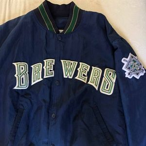 STARTER Jackets & Coats - Vintage Milwaukee Brewers Jacket